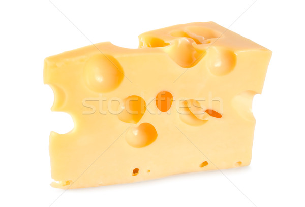 Dutch farmer's cheese isolated Stock photo © Givaga