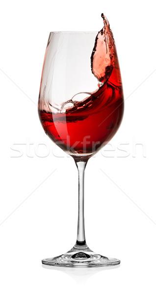Wine splash Stock photo © Givaga