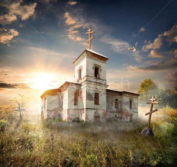 Abandoned church Stock photo © Givaga