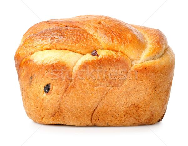 パン レーズン 孤立した 白 白地 ストックフォト © Givaga