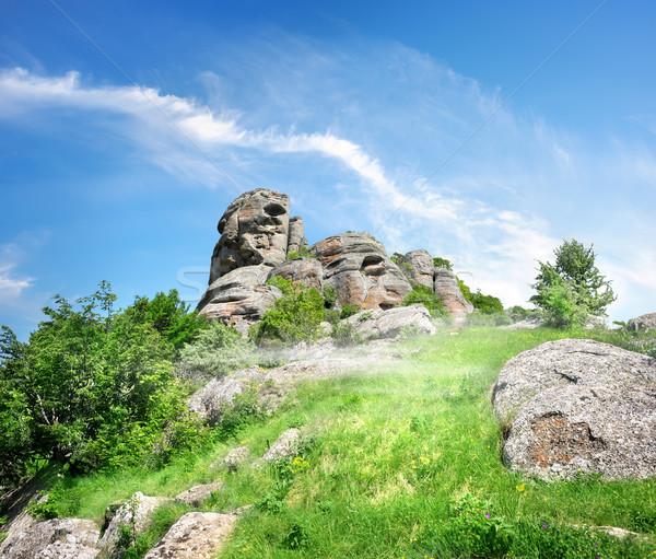 Mountains of Crimea Stock photo © Givaga