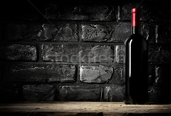 Brick wall and cabernet Stock photo © Givaga