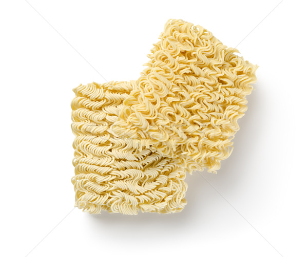 Noodles of fast preparation isolated Stock photo © Givaga