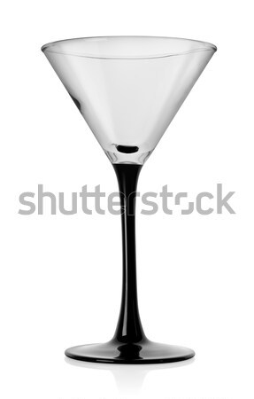マティーニグラス カクテル ガラス 孤立した 白 アルコール ストックフォト © Givaga