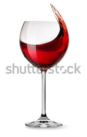Moving red wine Stock photo © Givaga