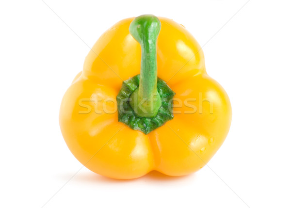 Ripe raw yellow pepper Stock photo © Givaga