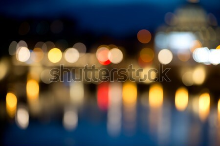Bokeh background of Vatican Stock photo © Givaga