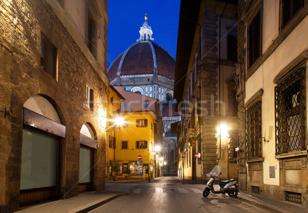 Florence and cathedral Stock photo © Givaga