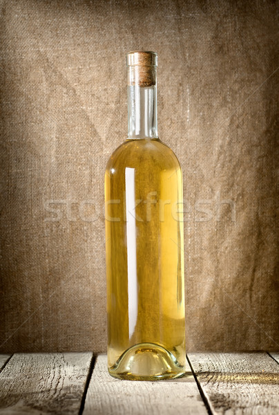 Dessert Wine on canvas Stock photo © Givaga