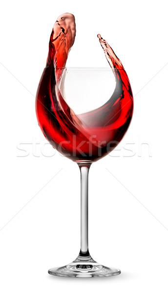 Elegant red wine Stock photo © Givaga