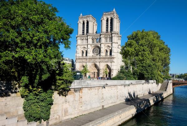 Notre Dame and Seine Stock photo © Givaga