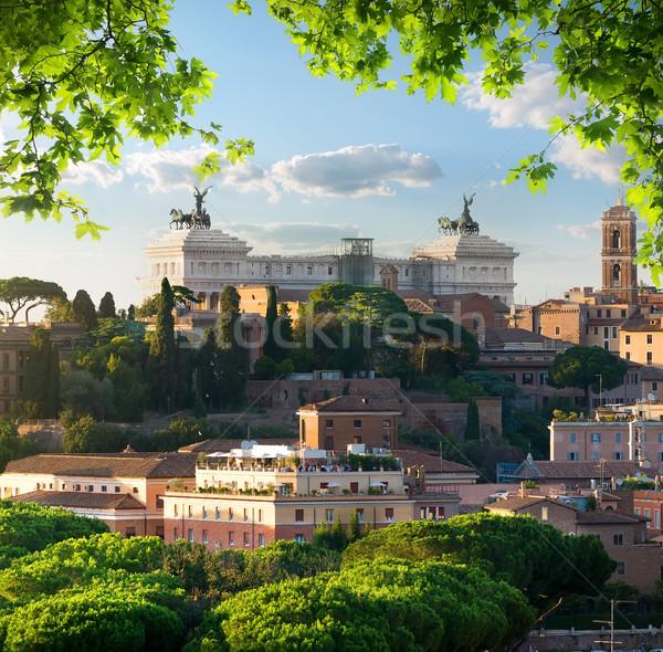 Vittoriano in Rome Stock photo © Givaga