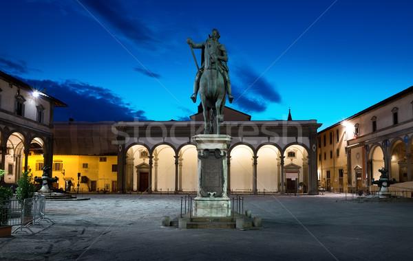 Piazza della Santissima Annunziata Stock photo © Givaga
