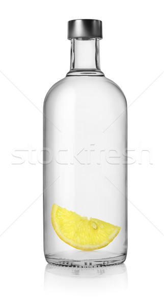 Vodka and lemon Stock photo © Givaga