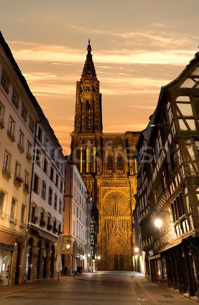 Notre Dame de Strasbourg Stock photo © Givaga