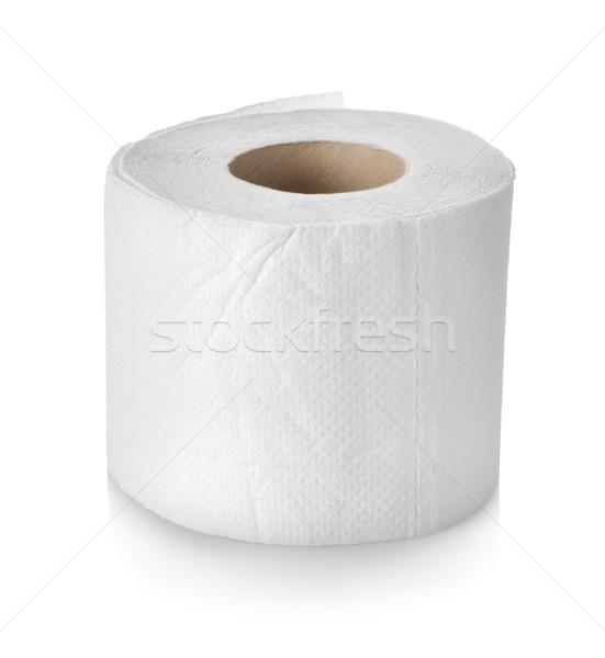 Toiletpapier geïsoleerd rollen witte Stockfoto © Givaga