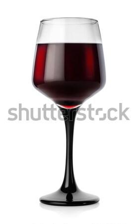 Red wine glass Stock photo © Givaga