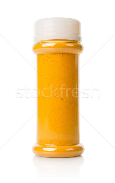 Jar of turmeric Stock photo © Givaga