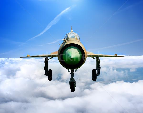 Jet plane MiG Stock photo © Givaga