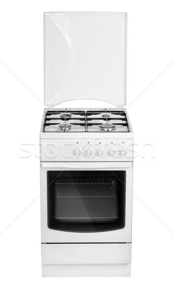 White gas cooker Stock photo © Givaga
