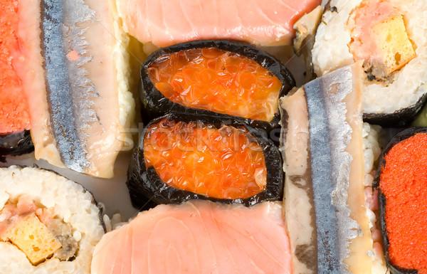 Sushi isolated Stock photo © Givaga