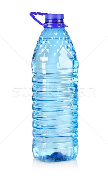 Nagy üveg víz izolált fehér Stock fotó © Givaga