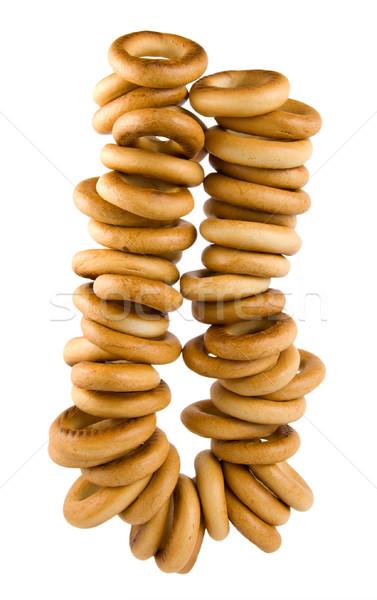 Copula of bagels Stock photo © Givaga