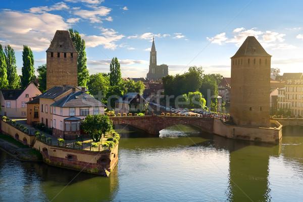Bridges of Strasbourg Stock photo © Givaga