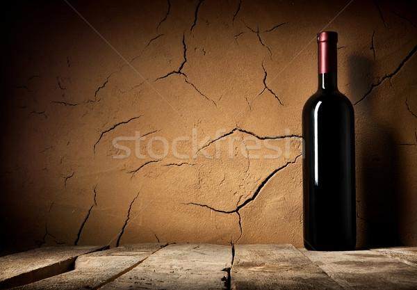 Bottle of cabernet Stock photo © Givaga