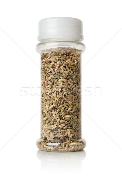 Fennel in a glass jar Stock photo © Givaga