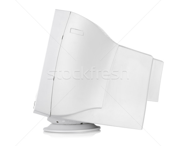 Old CRT monitor Stock photo © Givaga