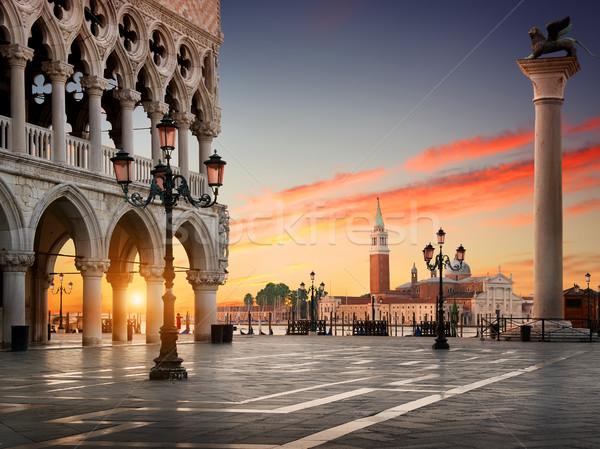 Square San Marco Stock photo © Givaga