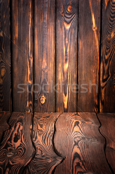 Stok fotoğraf: Duvar · zemin · ahşap · eski · ahşap · arka