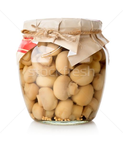 Marinated mushrooms Stock photo © Givaga