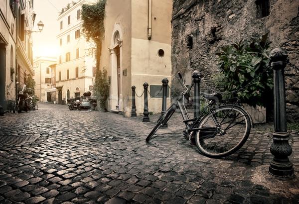 Stock photo: Street of Trastevere