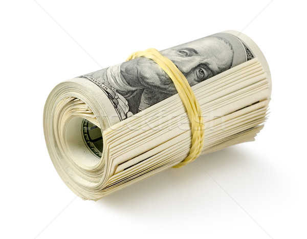 Roll of money Stock photo © Givaga