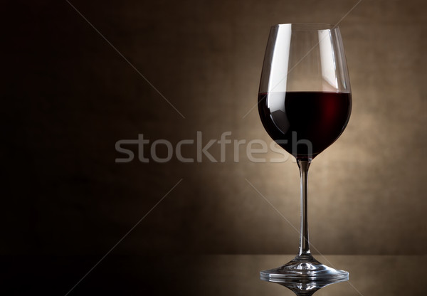 Dry red wine Stock photo © Givaga
