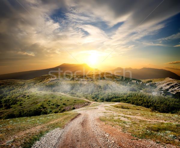 Beautiful mountains Stock photo © Givaga