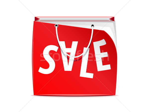 Vector shopping bag  Stock photo © gladcov