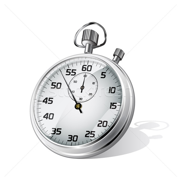 Vector stopwatch Stock photo © gladcov