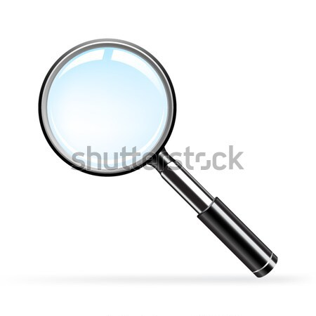 Magnifying glass  Stock photo © gladcov