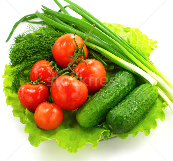 Fresh vegetable Stock photo © gladcov