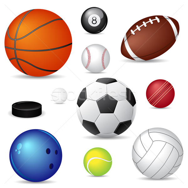 Sport balls Stock photo © gladcov