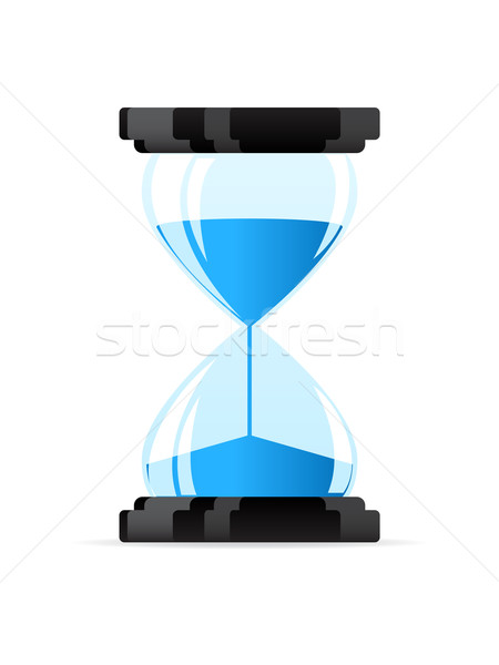 Hourglass icon Stock photo © gladcov
