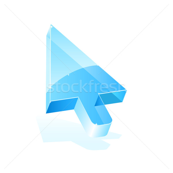 Arrow cursor Stock photo © gladcov