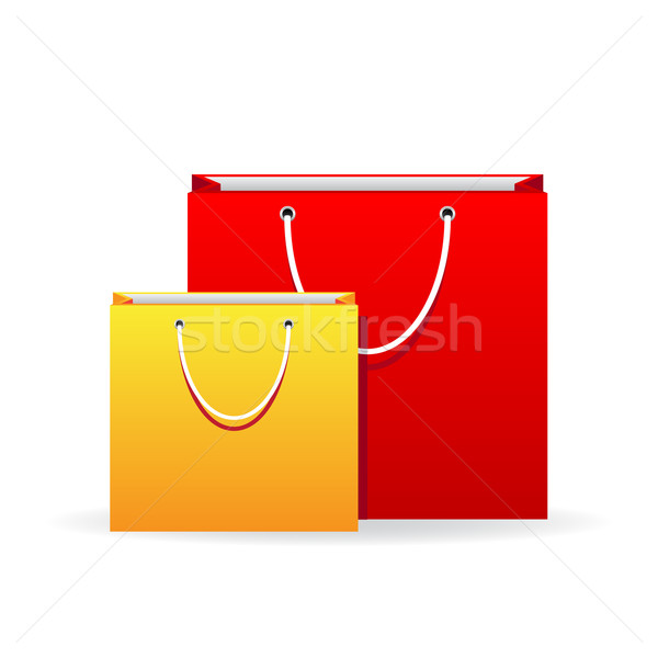 Vector shopping bags  Stock photo © gladcov
