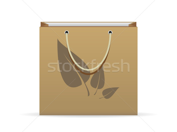 Shopping bag Stock photo © gladcov