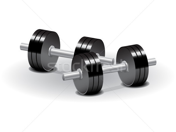 Dumbbells Stock photo © gladcov