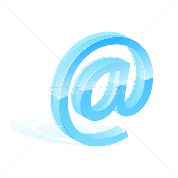 Email symbol Stock photo © gladcov