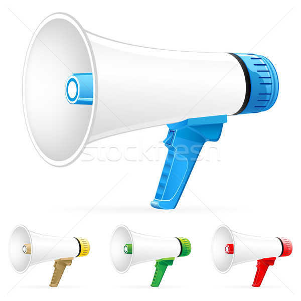 Megaphone icons  Stock photo © gladcov